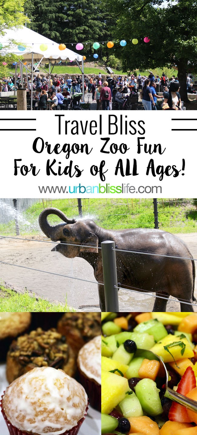 Oregon Zoo events for kids of all ages! Travel tips on UrbanBlissLife.com