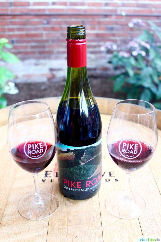 Pike Road Wines tasting room in Oregon wine country, on UrbanBlissLife.com