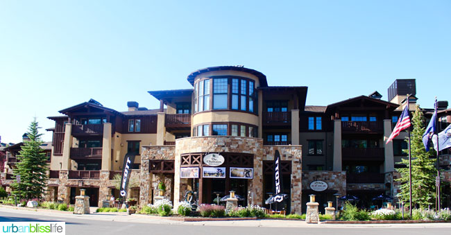 Where to stay in park city utah: The Chateaux