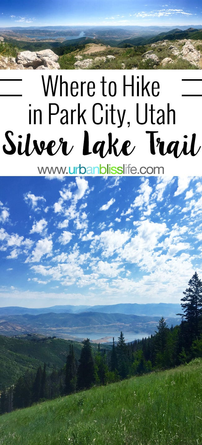 Park City, Utah hikes - Hiking the Silver Lake Trail on UrbanBlissLife.com