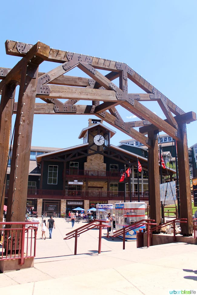 Park City Mountain Resort is a fabulous vacation spot for summer family adventures! Details on UrbanBlissLife.com