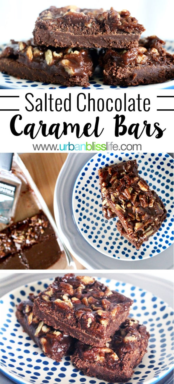 FOOD BLISS: Salted Chocolate-Caramel Bars - Urban Bliss Life
