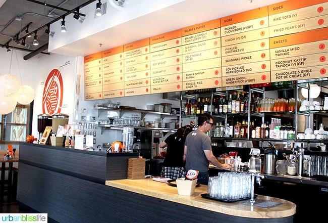 Where to Eat in Portland, Oregon: Boke Bowl Dim Sum Brunch, on UrbanBlissLife.com