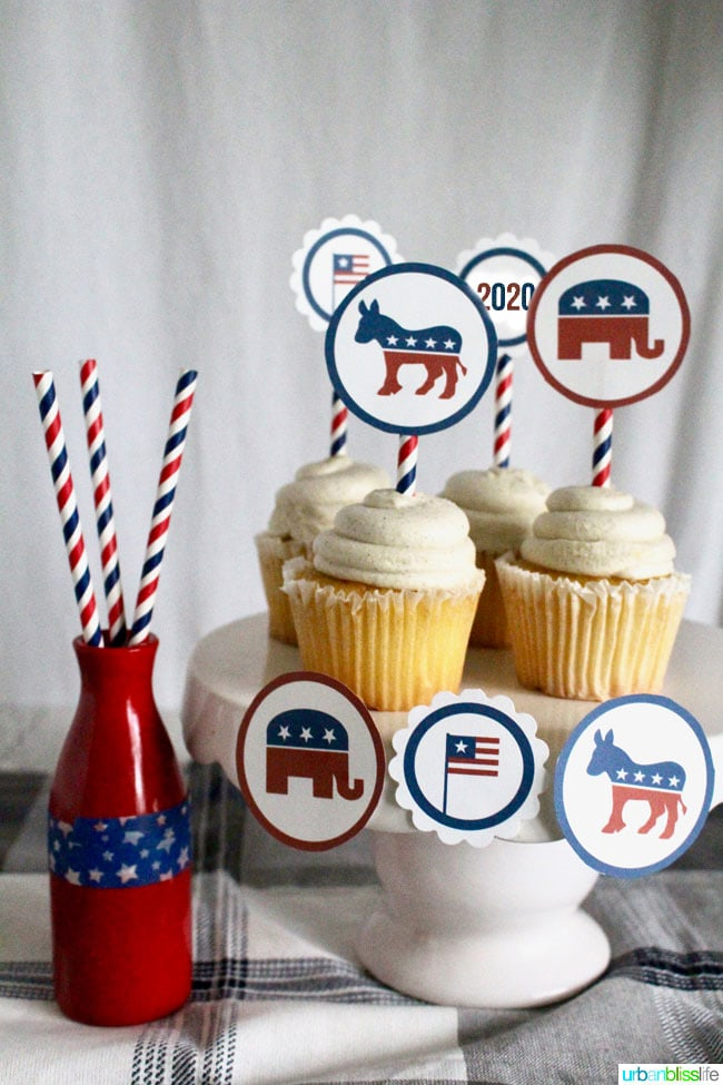 election party printables 2020