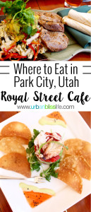 Royal Street Cafe is a lovely restaurant at the base of Deer Valley Resort in Park City, Utah. Full restaurant review on UrbanBlissLife.com