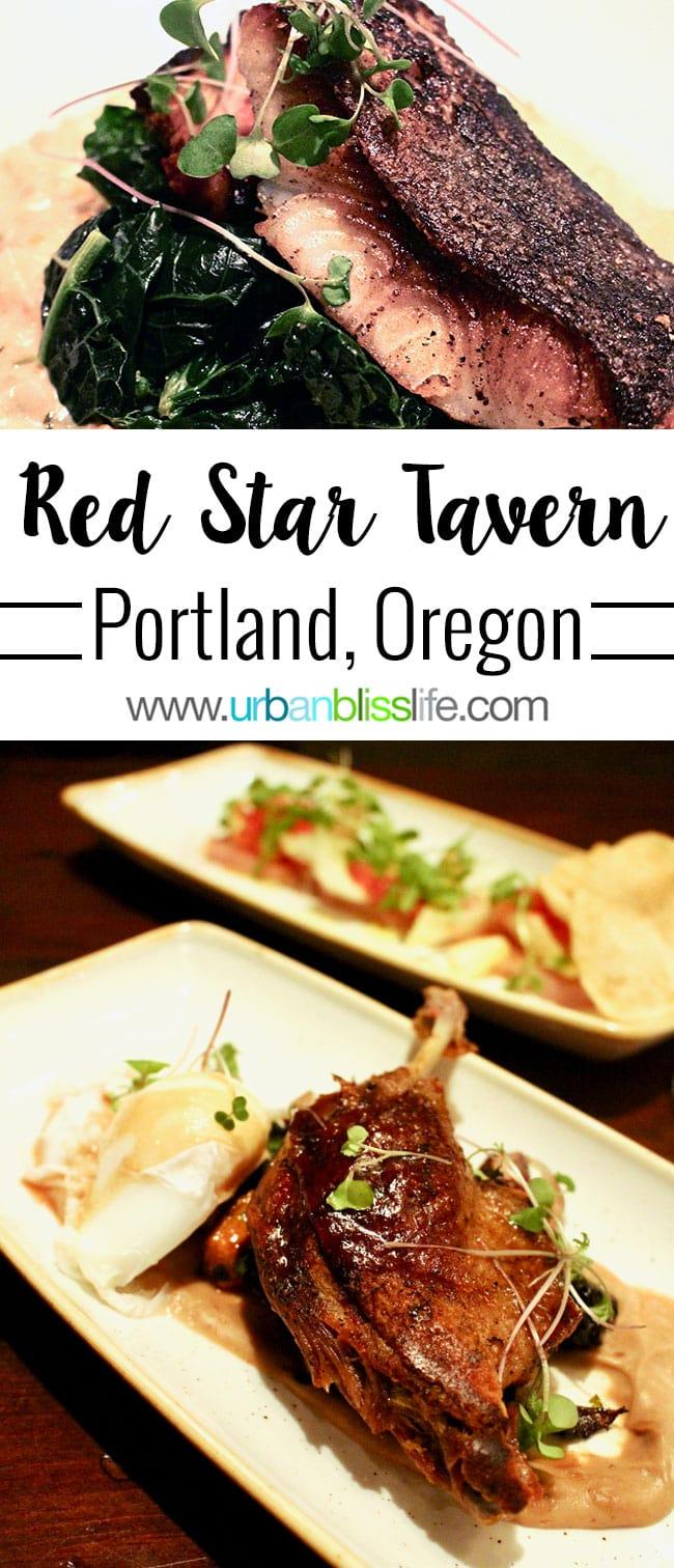 Red Star Tavern in Portland Oregon