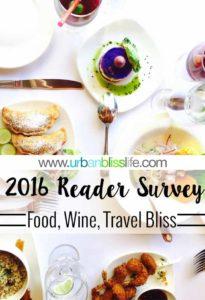2016 Urban Bliss Life Reader Survey