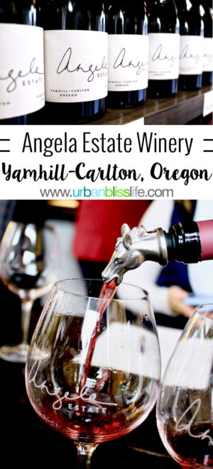 Angela Estate Winery in Dundee, Oregon on UrbanBlissLife.com