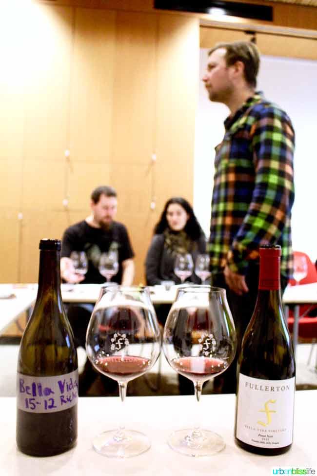 Wine Tasting Classes at Fullerton Wines