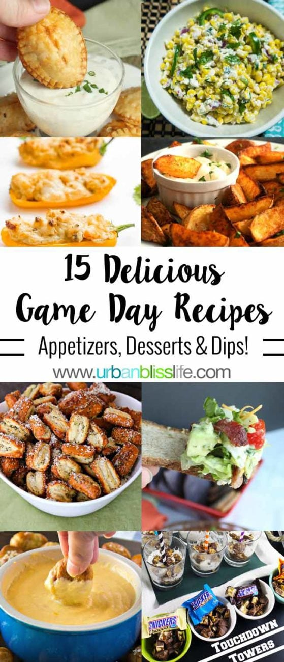 FOOD BLISS: 15 Best Game Day Recipes