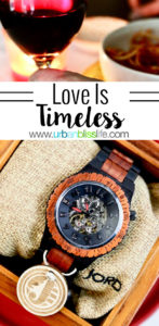 Love is timeless. Sharing a 20-year love story (and a cool watch) on UrbanBlissLife.com