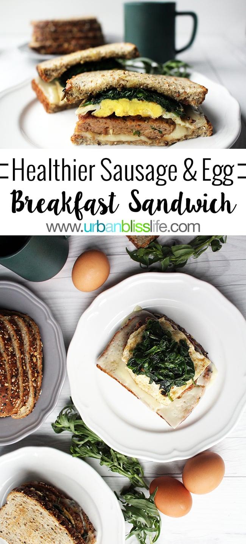 Homemade breakfast sandwiches on UrbanBlissLife.com