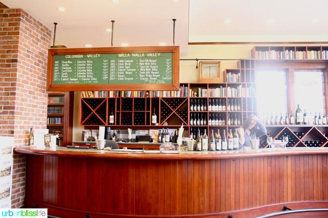 Walla Walla Wineries - L'Ecole Winery bar
