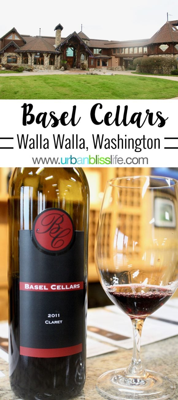 Wine Bliss: Basel Cellars in Walla Walla, Washington