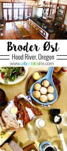 Broder Øst restaurant in Hood River, Oregon. Review on UrbanBlissLife.com