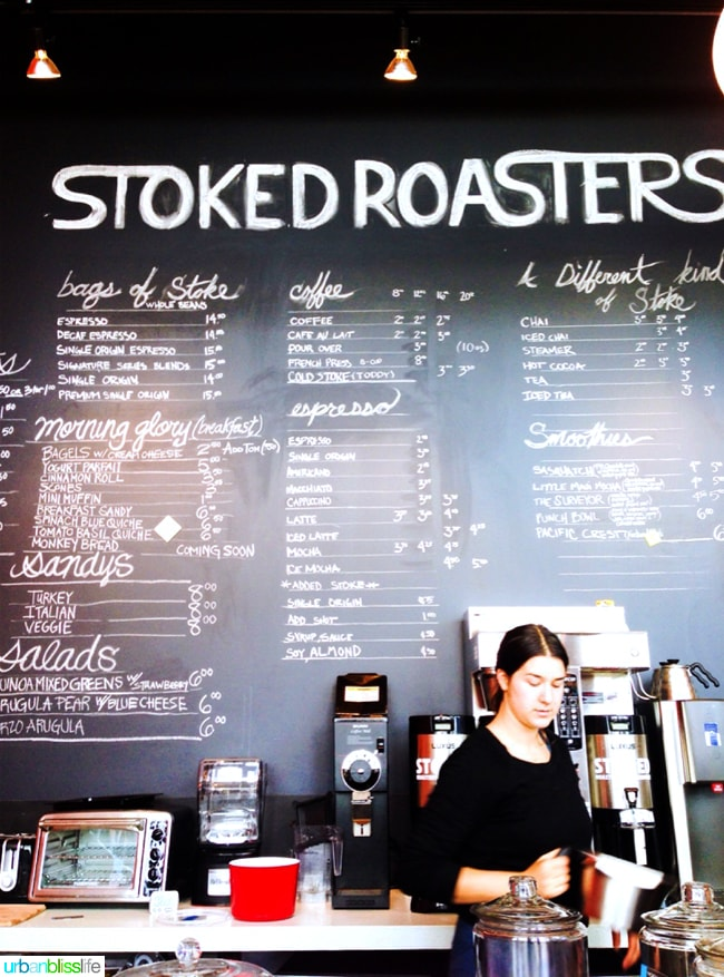 Stoked Roasters, Hood River Oregon travel tips on UrbanBlissLife.com