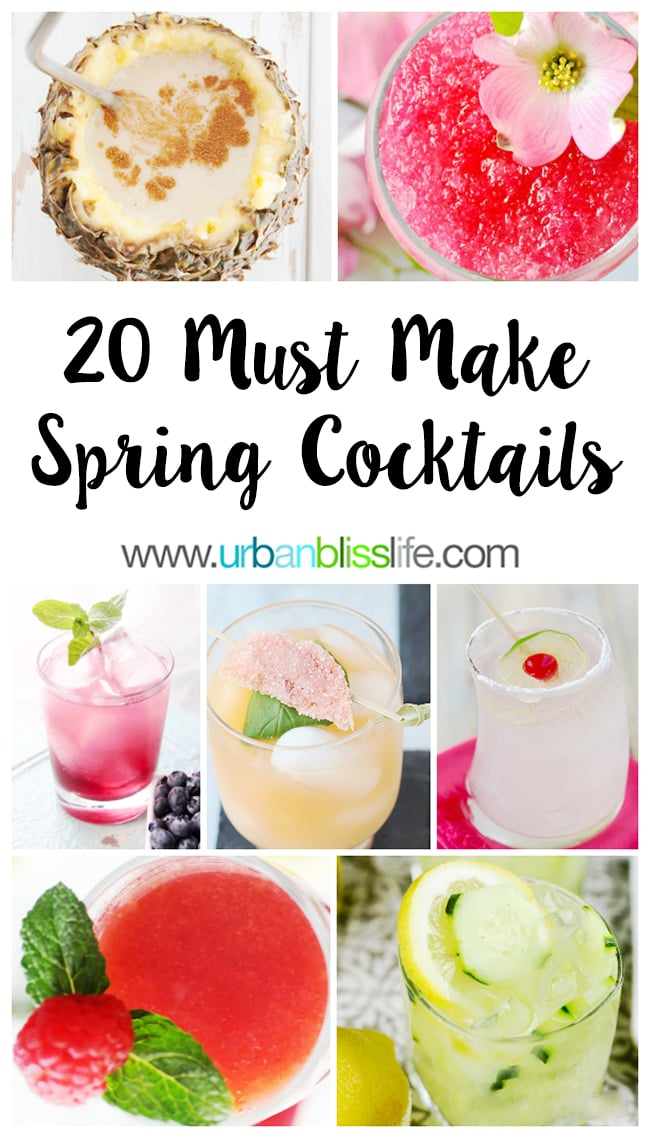 Fruity Cocktail recipes on UrbanBlissLife.com