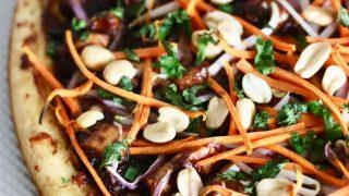 CPK Copycat Thai Chicken Pizza Recipe (Dairy Free)