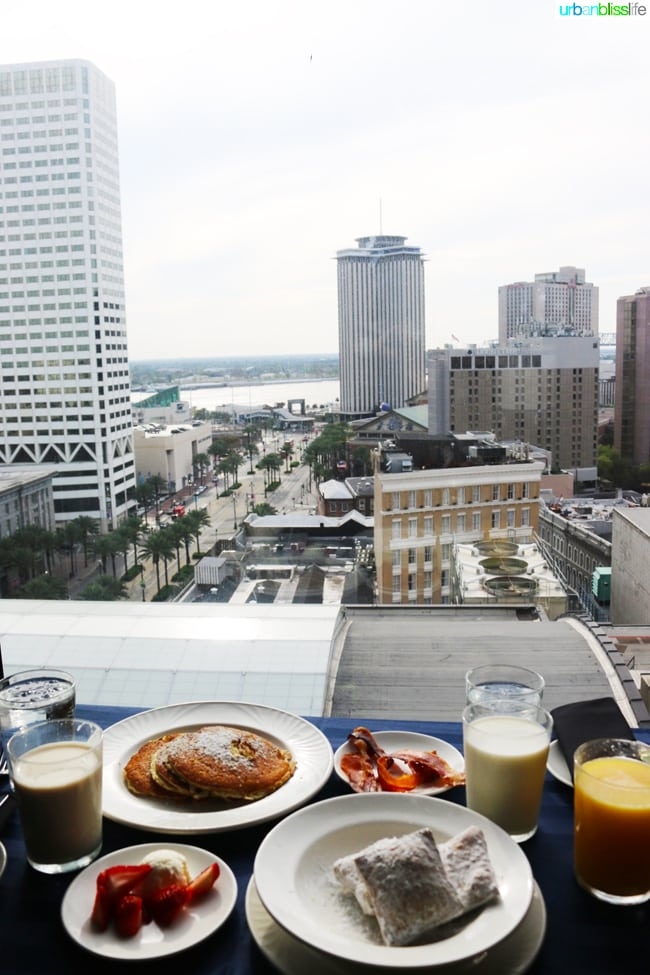 New Orleans breakfast