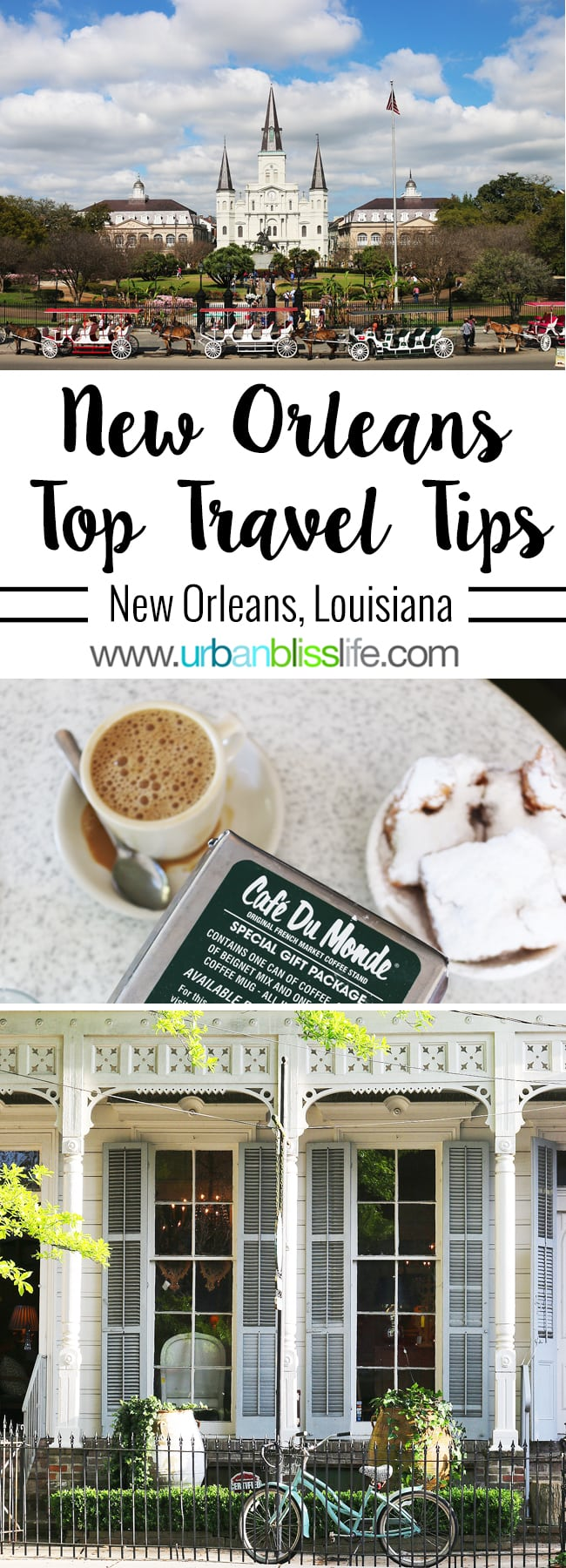 Getting Around New Orleans - Top Travel Tips on UrbanBlissLife.com