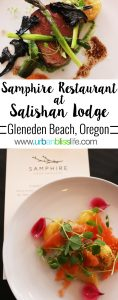 Salishan Lodge's Samphire Restaurant Opens, restaurant review on UrbanBlissLife.com