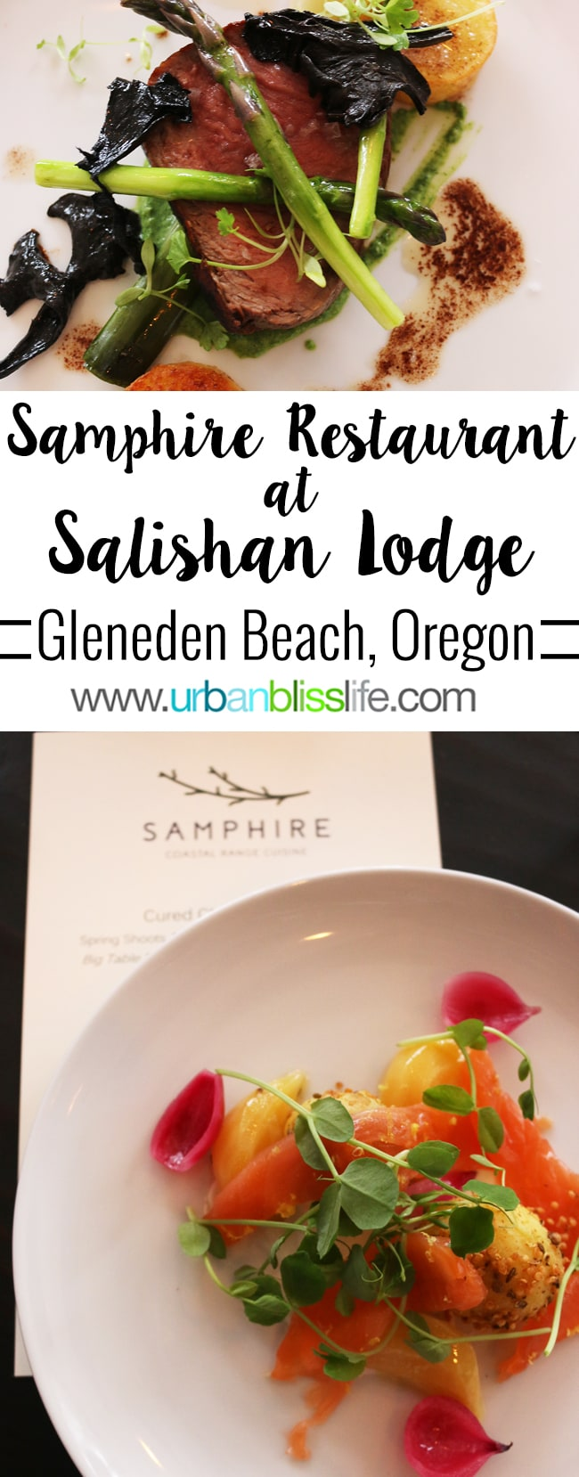 Salishan Lodge: Samphire Restaurant review on UrbanBlissLife.com