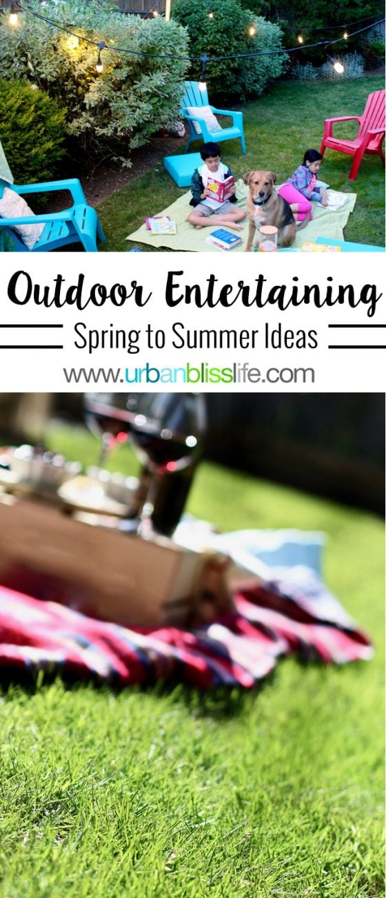 Home Bliss: Spring to Summer Backyard Entertaining Ideas