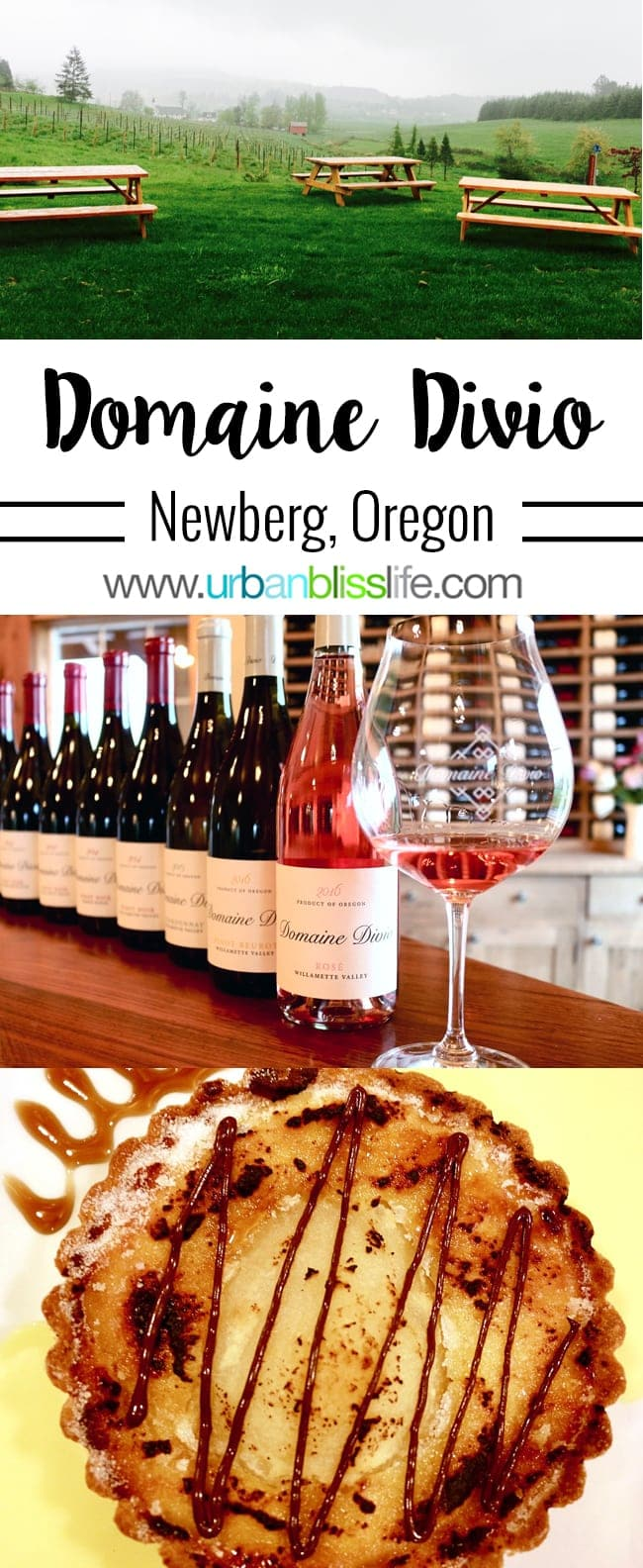 Domaine Divio Oregon winery in Oregon's Willamete Valley wine country on UrbanBlissLife.com