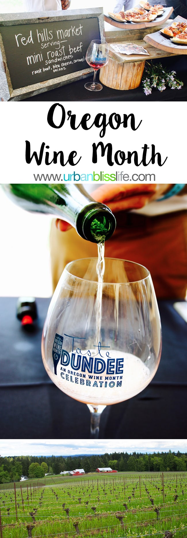 Oregon Wine Month Tasting Events Guide on UrbanBlissLife.com