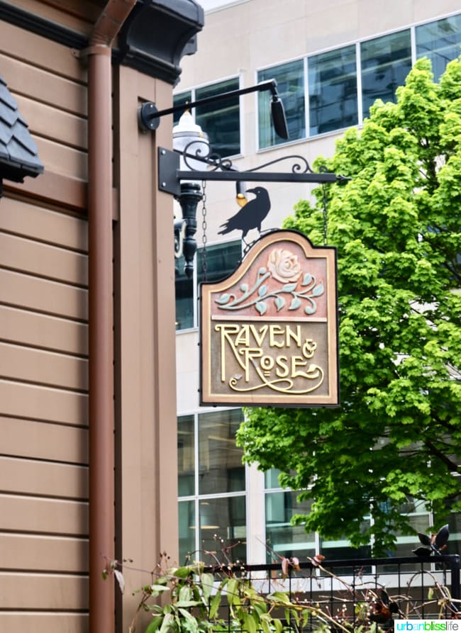 Raven and Rose restaurant in Portland