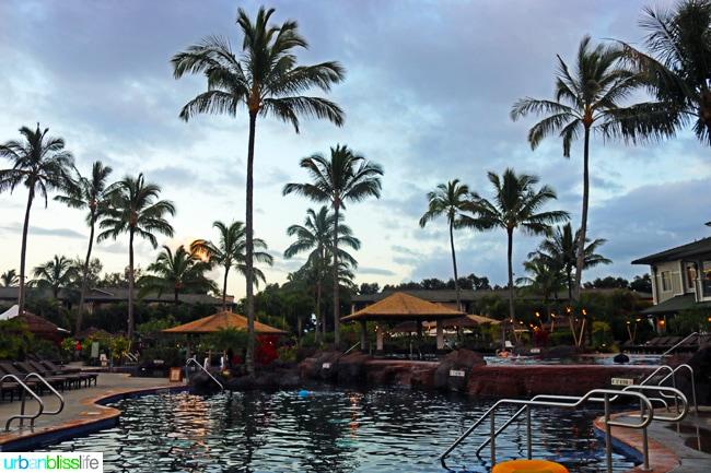 Pool at Kauai Westin Princeville Ocean Resort Villas in Hawaii