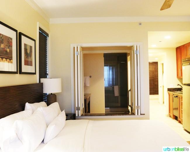 Guest room at Kauai Westin Princeville Ocean Resort Villas
