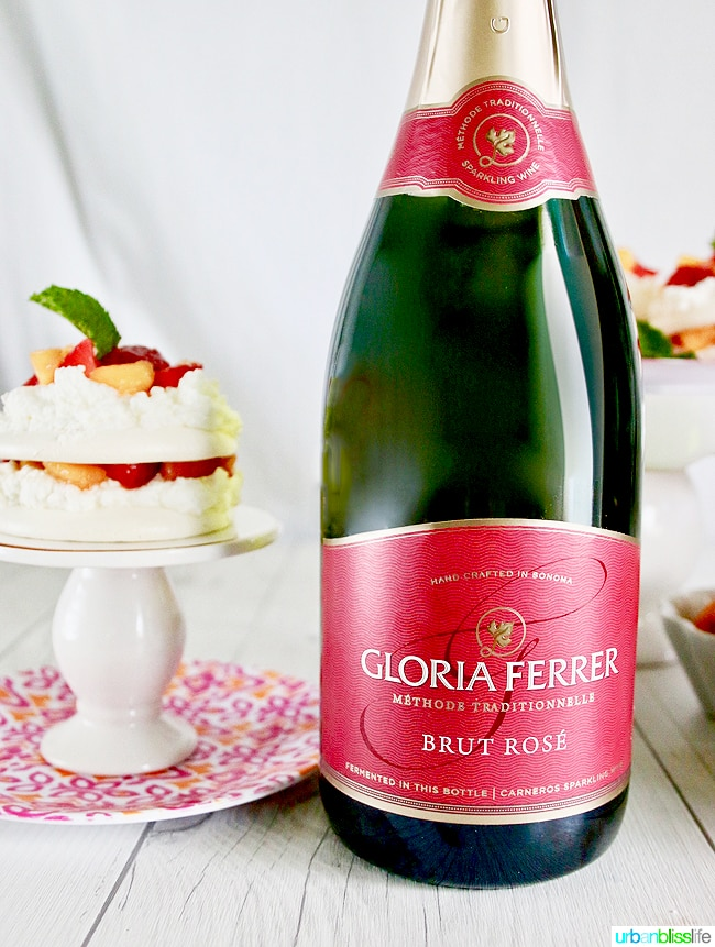 gloria ferrer brut rose