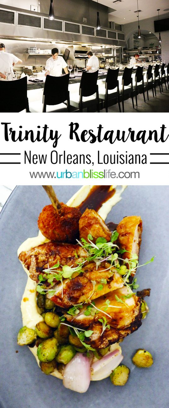 Food + Travel Bliss: Trinity Restaurant in New Orleans