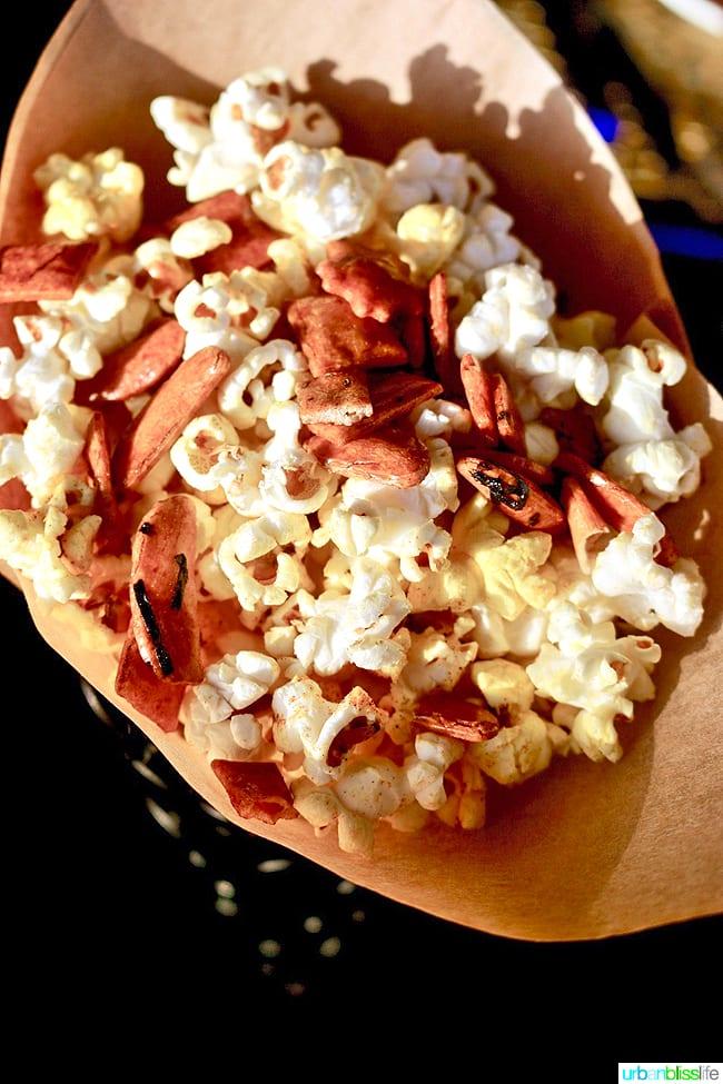 spiced popcorn at RumFire on Kauai