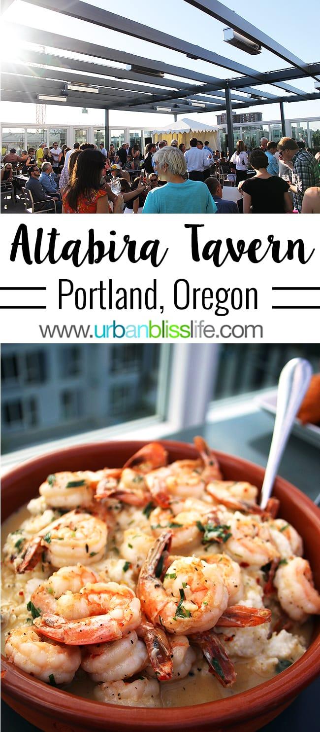Altabira Portland restaurant review on UrbanBlissLife.com