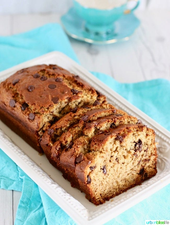 Chocolate Chip Banana Bread Recipe: a Family Favorite!