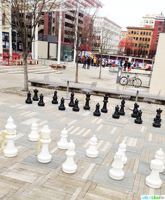 50 Things to Do in Portland, Oregon With Kids: Chess at Director Park