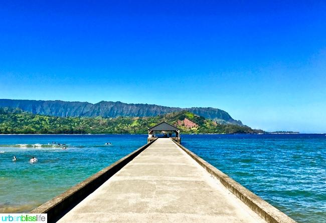 Hanalei Bay Kauai Hawaii adventures on UrbanBlissLife.com