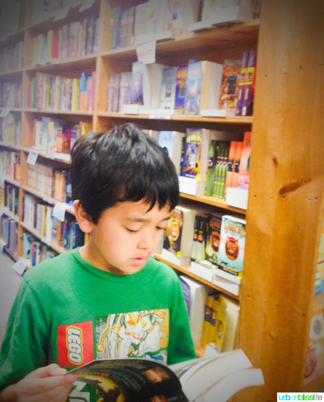 50 Things to Do in Portland With Kids: Powells Books