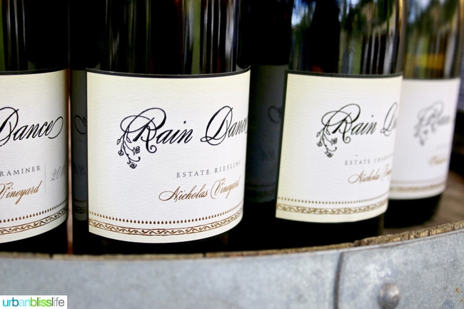 Rain Dance Vineyards wine