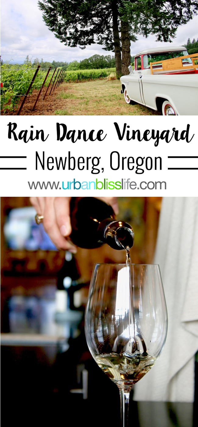 Rain Dance Vineyards Oregon Wine Country UrbanBlissLife.com