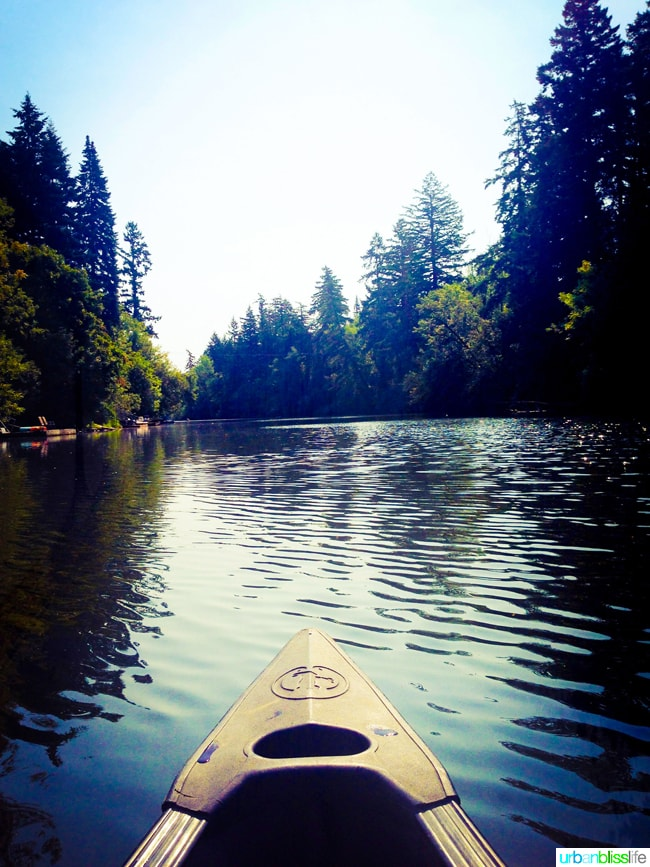 50 Things to Do in Portland, Oregon With Kids During the Summer - kayaking, travel tips on UrbanBlissLife.com.