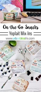 Yoplait Mix-Ins Snacking On-the-Go on UrbanBlissLife.com
