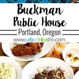 Buckman Public House restaurant in Portland, Oregon, on UrbanBlissLife.com