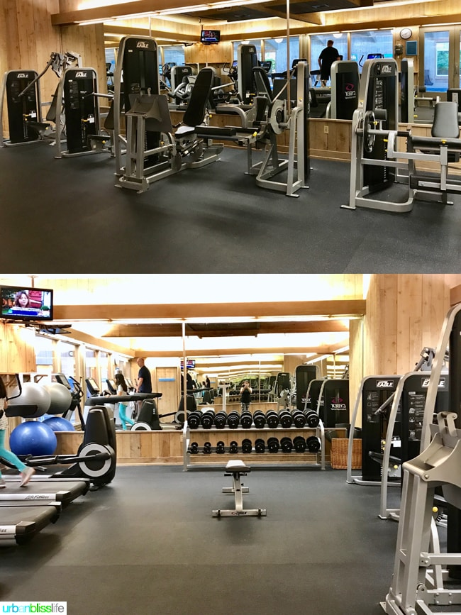 Salishan Spa fitness center