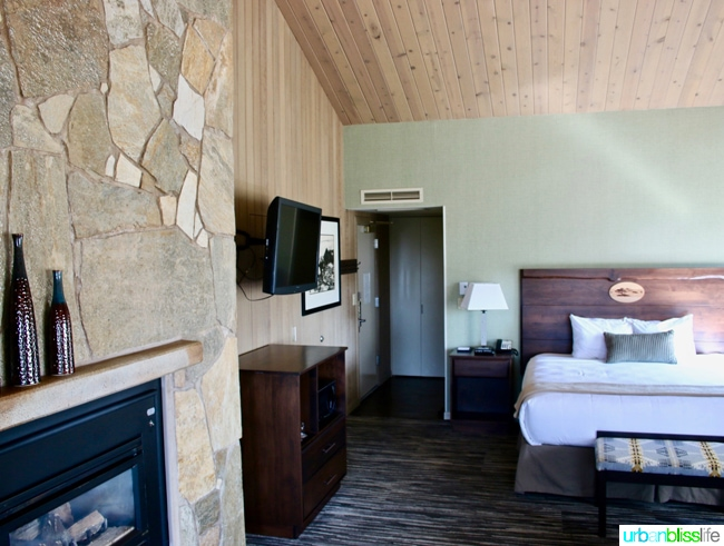 Salishan Spa guest room