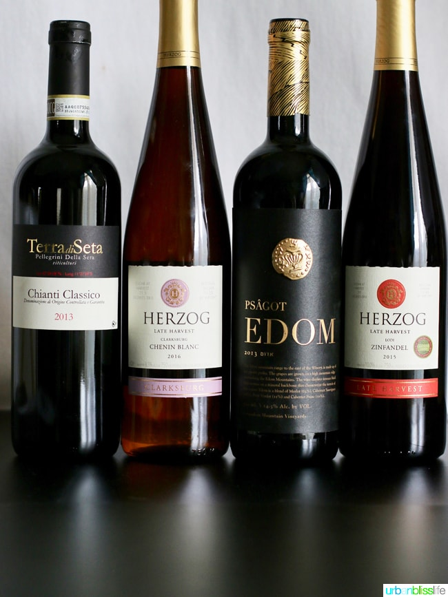 Wine Bliss: Kosher Wines for the High Holidays