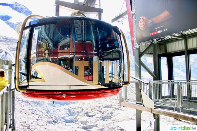 mount titlis rotair gondola