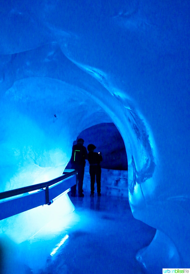 glacier cave mount titlis